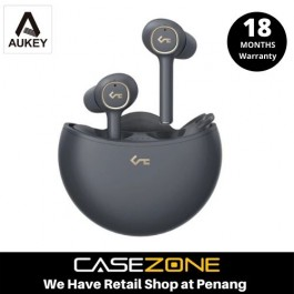 Aukey EP-T18NC Key Series Active Noise-Canceling BT5.0 TWS Earbuds - Black